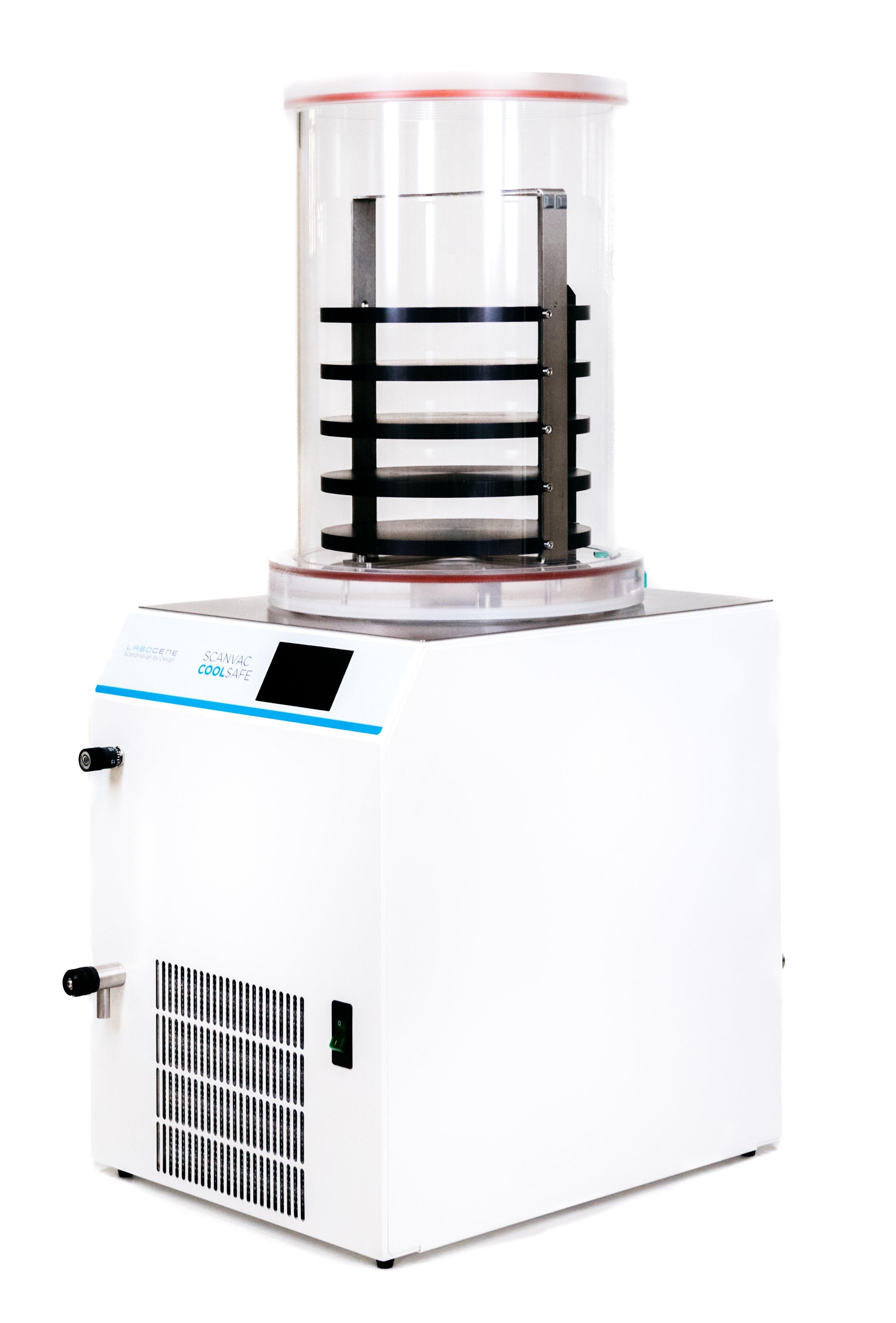 CoolSafe 4-15L Freeze Dryers - ScanVac - Freeze dryers